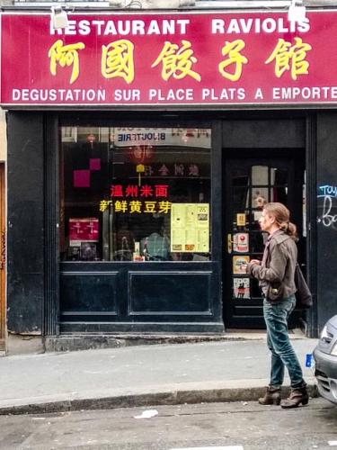 restaurant, food, Chinese, Paris, France