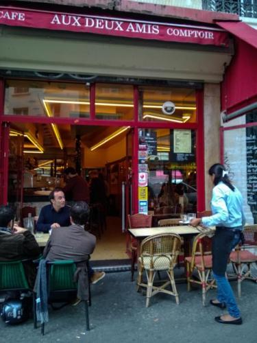 food, restaurant, Paris, slow food