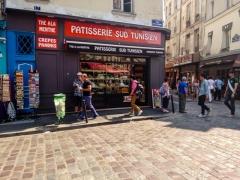 patisserie, Tunisian, tunisien, oriental, Paris, France, rue de la Harpe