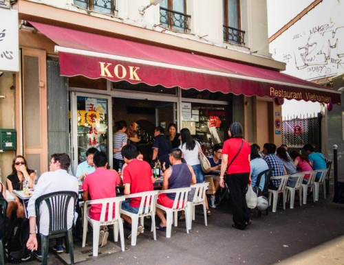 restaurant, Paris, 75013, Vietnamese, Chinese, soup, Kok, France